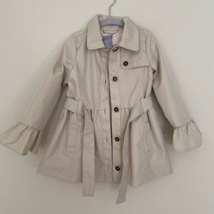 Tahari girls raincoat
